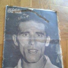 Coleccionismo deportivo: VIDA DEPORTIVA JULIO 1959 BAHAMONTES CAMPEÓN TOUR DE FRANCIA CICLISMO PORTADA Y 8 PÁGINAS. Lote 42179214
