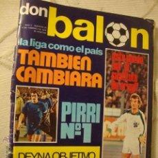 Coleccionismo deportivo: REVISTA FUTBOL DON BALON PIRRI Nº1. Lote 49179552
