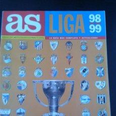 Coleccionismo deportivo: GUIA AS LIGA 1998- 1999 , LA GUIA MAS COMPLETA Y ACTUALIZADA. Lote 42333779
