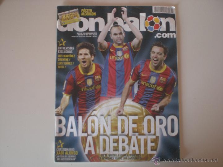 REVISTA DON BALÓN - Nº 1833 BALÓN DE ORO A DEBATE 2010 (Coleccionismo Deportivo - Revistas y Periódicos - Don Balón)