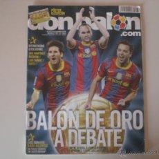 Coleccionismo deportivo: REVISTA DON BALÓN - Nº 1833 BALÓN DE ORO A DEBATE 2010. Lote 42347286