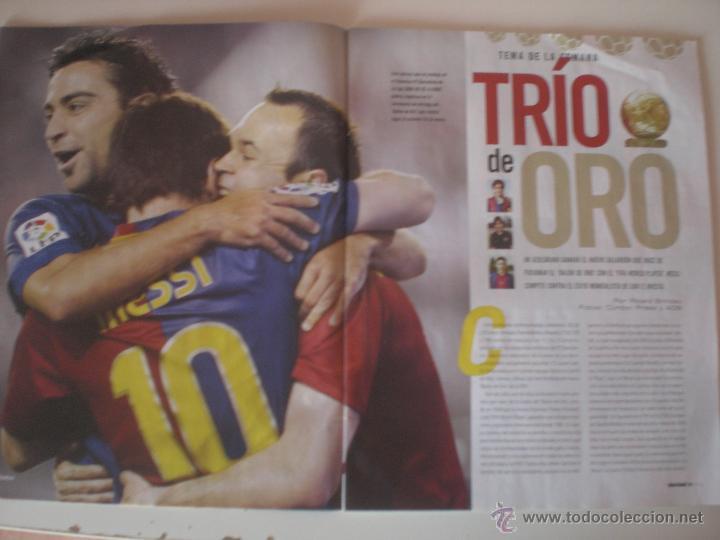 Coleccionismo deportivo: REVISTA DON BALÓN - Nº 1833 BALÓN DE ORO A DEBATE 2010 - Foto 2 - 42347286