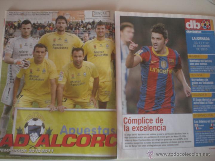Coleccionismo deportivo: REVISTA DON BALÓN - Nº 1833 BALÓN DE ORO A DEBATE 2010 - Foto 6 - 42347286