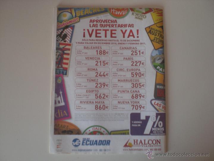 Coleccionismo deportivo: REVISTA DON BALÓN - Nº 1833 BALÓN DE ORO A DEBATE 2010 - Foto 7 - 42347286
