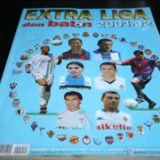 Coleccionismo deportivo: EXTRA LIGA DON BALÓN TEMPORADA 01-02. Lote 42385239