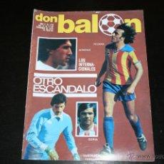 Coleccionismo deportivo: REVISTA DON BALÓN Nº 218 DICIEMBRE 1979. Lote 42407570