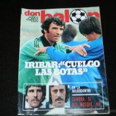 Coleccionismo deportivo: REVISTA DON BALÓN Nº 219 DICIEMBRE 1979. Lote 42407602