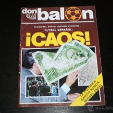 Coleccionismo deportivo: REVISTA DON BALÓN Nº 224 ENERO 1980. Lote 42407712