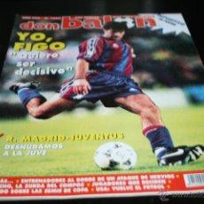 Coleccionismo deportivo: REVISTA DON BALÓN Nº 1063 MARZO 1996. Lote 42418633