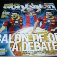 Coleccionismo deportivo: REVISTA DON BALÓN Nº 1833 DICIEMBRE 2010 POSTER ALCORCON. Lote 42419026