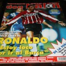 Coleccionismo deportivo: REVISTA DON BALÓN Nº 1082 JULIO 1996 POSTER ALEMANIA CAMPEONA EUROCOPA 1996. Lote 42424685