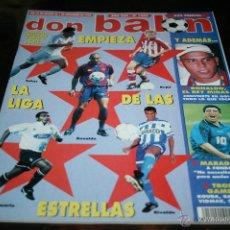 Coleccionismo deportivo: REVISTA DON BALÓN Nº 1089 SEPTIEMBRE 1996 HOJAS CENTRALES LA MEJOR LIGA DEL MUNDO. Lote 42425603