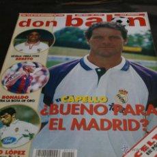 Colecionismo desportivo: REVISTA DON BALÓN Nº 1101 NOVIEMBRE 1996 POSTER CELTA 96-97. Lote 42426024