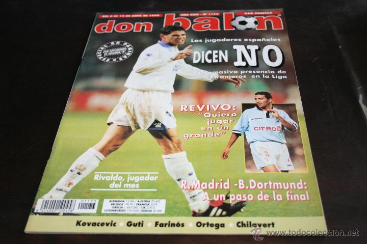 REVISTA DON BALÓN Nº 1173 ABRIL 1998 (Coleccionismo Deportivo - Revistas y Periódicos - Don Balón)