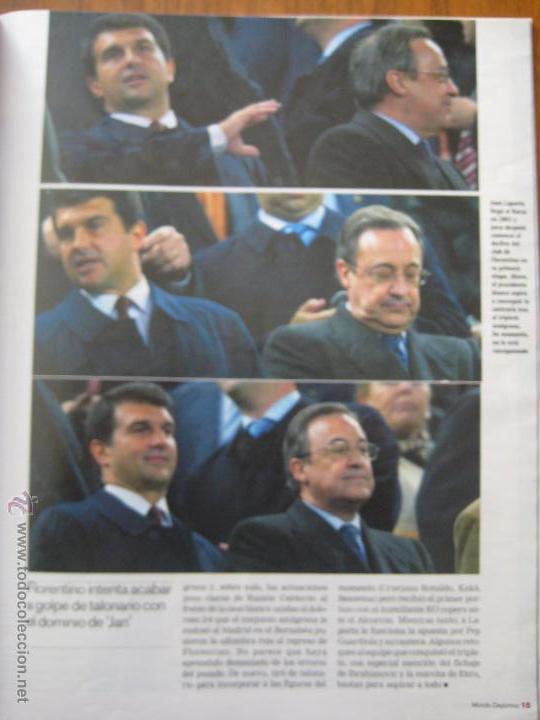 Coleccionismo deportivo: REVISTA MUNDO DEPORTIVO - ESPECIAL BARÇA MADRID - EL PARTIDO DEL SIGLO - 29/11/2009 - Foto 3 - 42519175