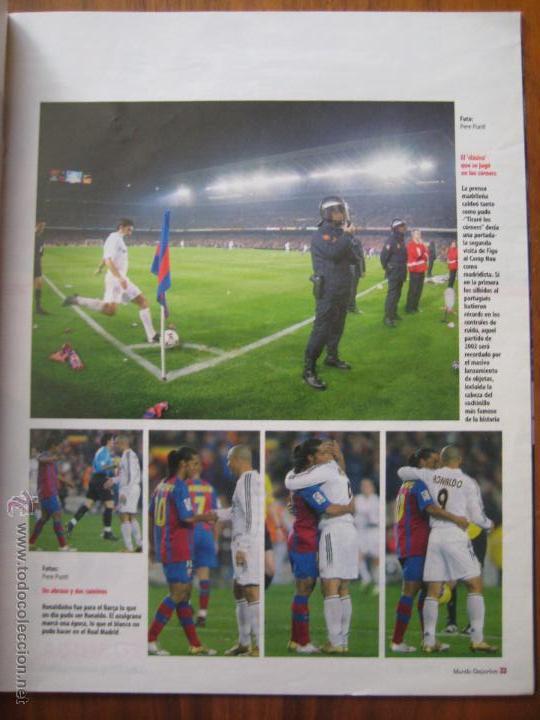 Coleccionismo deportivo: REVISTA MUNDO DEPORTIVO - ESPECIAL BARÇA MADRID - EL PARTIDO DEL SIGLO - 29/11/2009 - Foto 8 - 42519175