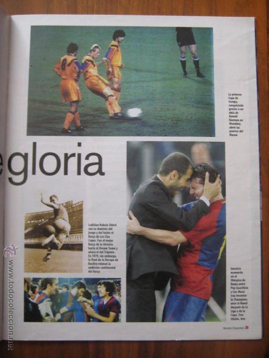 Coleccionismo deportivo: REVISTA MUNDO DEPORTIVO - ESPECIAL BARÇA MADRID - EL PARTIDO DEL SIGLO - 29/11/2009 - Foto 9 - 42519175