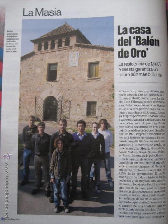 Coleccionismo deportivo: REVISTA MUNDO DEPORTIVO - ESPECIAL BARÇA MADRID - EL PARTIDO DEL SIGLO - 29/11/2009 - Foto 11 - 42519175