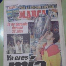 Coleccionismo deportivo: DIARIO MARCA Y EDICIÓN ESPECIAL 21 DE MAYO DE 1998 FINAL CHAMPIONS LA SÉPTIMA REAL MADRID JUVENTUS. Lote 42572910