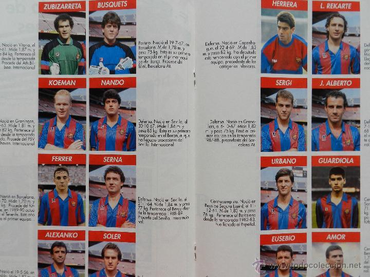 Coleccionismo deportivo: EXTRA DIARIO SPORT BARÇA CAMPEON LIGA 1990/1991 - FC BARCELONA CAMPIONS 90-91 SUPLEMENTO ESPECIAL - Foto 2 - 42596396
