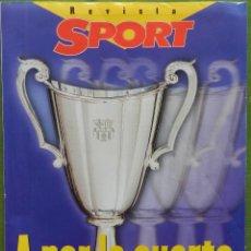 Coleccionismo deportivo: EXTRA DIARIO SPORT PREVIO BARÇA CAMPEON RECOPA 1997 FC BARCELONA 96/97 SUPLEMENTO ESPECIAL PSG. Lote 42596523