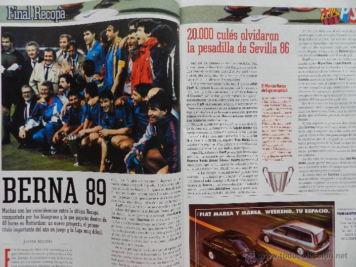 Coleccionismo deportivo: EXTRA DIARIO SPORT PREVIO BARÇA CAMPEON RECOPA 1997 FC BARCELONA 96/97 SUPLEMENTO ESPECIAL PSG - Foto 3 - 42596523