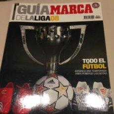 Coleccionismo deportivo: GUIA DE LA LIGA MARCA 2008. Lote 42597396