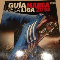Coleccionismo deportivo: GUIA DE LA LIGA MARCA 2010. Lote 42597513