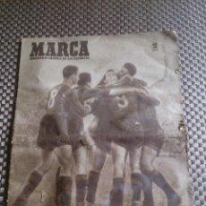 Coleccionismo deportivo: MUY ANTIGUO PERIÓDICO MARCA AÑO 1949. EL BARCELONA CAMPEÓN. Lote 42620843