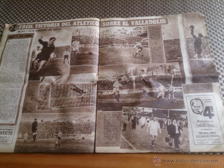 Coleccionismo deportivo: muy antiguo periódico Marca año 1949. EL BARCELONA CAMPEÓN - Foto 4 - 42620843