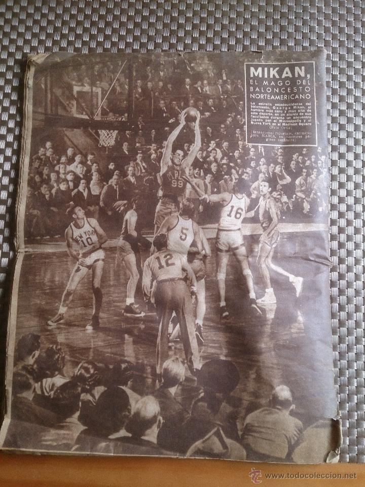 Coleccionismo deportivo: muy antiguo periódico Marca año 1949. EL BARCELONA CAMPEÓN - Foto 6 - 42620843