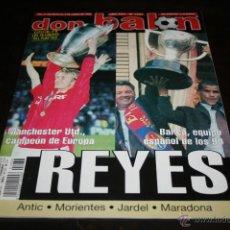 Coleccionismo deportivo: REVISTA DON BALÓN Nº 1233 JUNIO 1999 FINAL CHAMPIONS MANCHESTER 2 BAYER 1. Lote 42656986