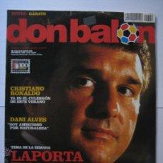 Coleccionismo deportivo: REVISTA DON BALON AÑO XXXIV Nº 1709 - LAPORTA EN LA TRINCHERA - CUADERNILLO MERCADO DE FICHAJES. Lote 42669617