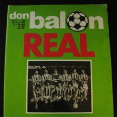Coleccionismo deportivo: REVISTA DON BALON 290 REAL SOCIEDAD CAMPEON 80-81. Lote 42675304