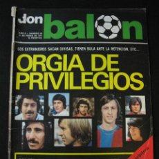 Coleccionismo deportivo: REVISTA DON BALON 69 ARCONADA REAL SOCIEDAD ARKONADA. Lote 42790660
