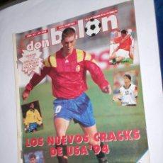Coleccionismo deportivo: REVISTA DON BALON Nº948 DE 28 DE DICIEMBRE 93 AL 3 DE ENERO 94,CRACKS USA'94, ETC. Lote 43077372