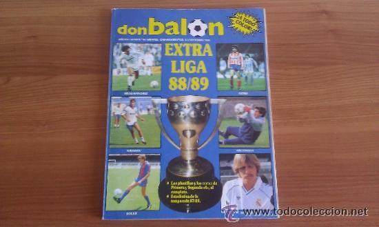DON BALON EXTRA Nº 16 REVISTA DEPORTIVA FUTBOL, ESPECIAL EXTRA LIGA 88 - 89 (Coleccionismo Deportivo - Revistas y Periódicos - Don Balón)