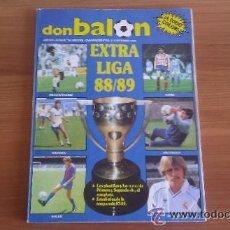 Coleccionismo deportivo: DON BALON EXTRA Nº 16 REVISTA DEPORTIVA FUTBOL, ESPECIAL EXTRA LIGA 88 - 89. Lote 95234744
