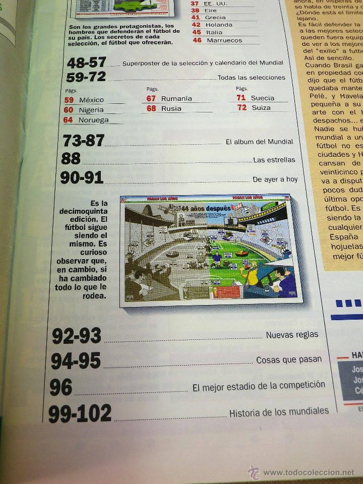 Coleccionismo deportivo: REVISTA DE FUTBOL, MARCA, SUPERFUTBOL, GUIA USA 94, MUNDIAL - Foto 4 - 43107242