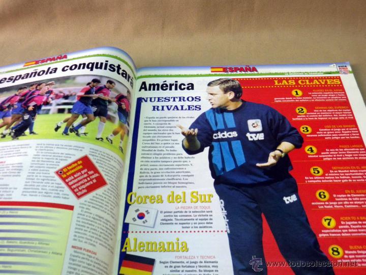 Coleccionismo deportivo: REVISTA DE FUTBOL, MARCA, SUPERFUTBOL, GUIA USA 94, MUNDIAL - Foto 5 - 43107242