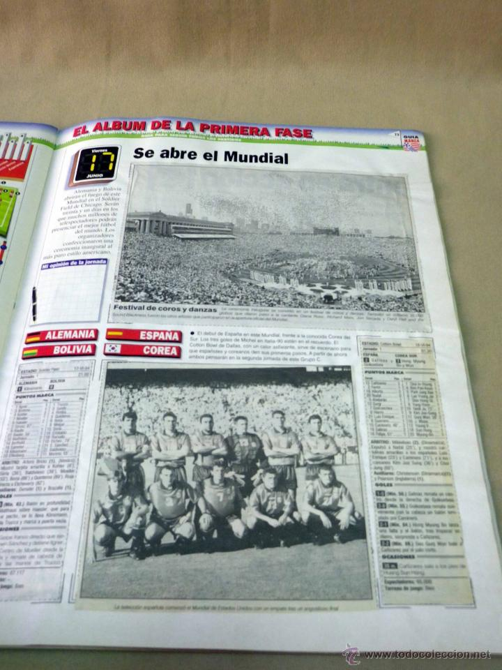 Coleccionismo deportivo: REVISTA DE FUTBOL, MARCA, SUPERFUTBOL, GUIA USA 94, MUNDIAL - Foto 7 - 43107242