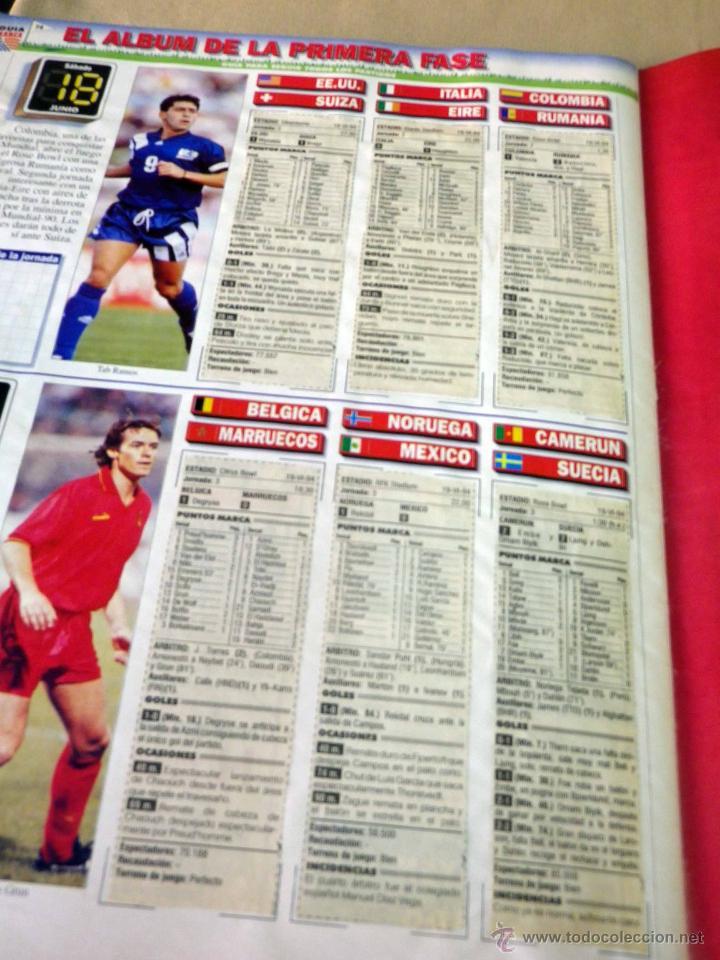 Coleccionismo deportivo: REVISTA DE FUTBOL, MARCA, SUPERFUTBOL, GUIA USA 94, MUNDIAL - Foto 8 - 43107242