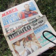 Coleccionismo deportivo: ANTIGUO PERIODICO MARCA - JUNIO 1995. Lote 43154411
