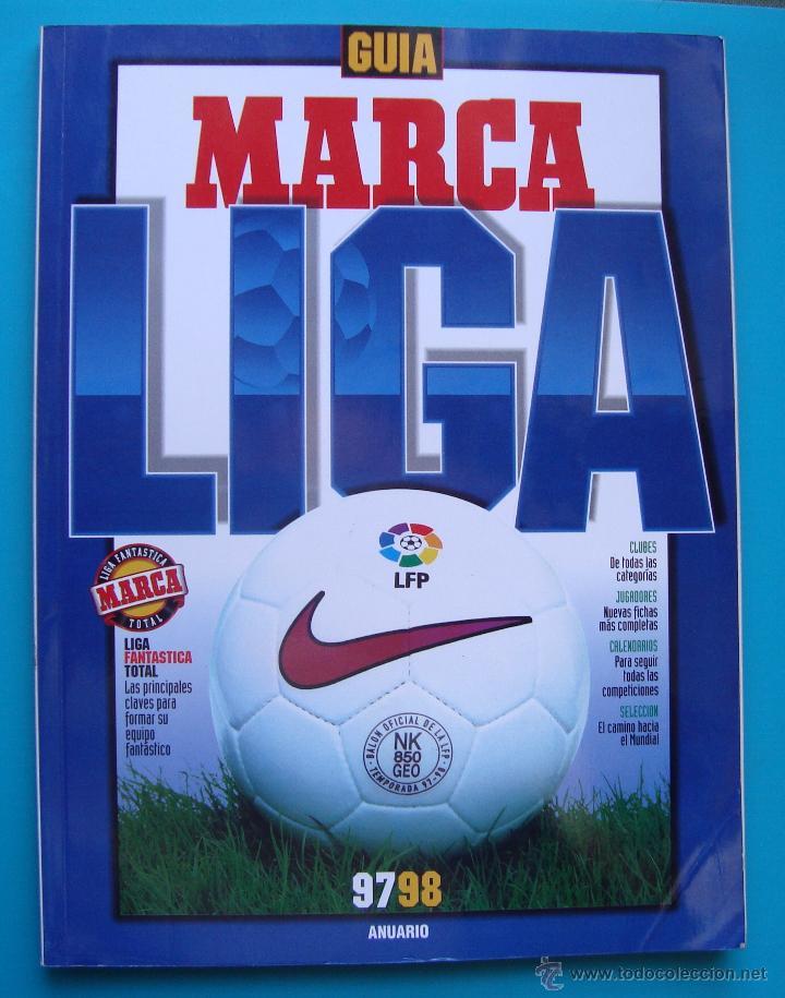 GUIA MARCA LIGA AÑO 1997 - 1998 ANUARIO (Coleccionismo Deportivo - Revistas y Periódicos - Marca)
