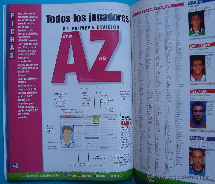 Coleccionismo deportivo: GUIA MARCA LIGA AÑO 1997 - 1998 ANUARIO - Foto 3 - 43211295
