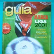 Coleccionismo deportivo: GUIA MARCA LIGA AÑO 2001. Lote 43211377