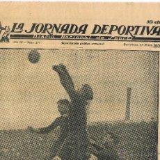 Collectionnisme sportif: SUPLEMENTO GRAFICO SEMANAL - LA JORNADA DEPORTIVA - AÑO IV - Nº 211 - 15 ENERO 1924. Lote 43293619