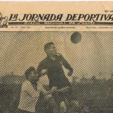 Collectionnisme sportif: SUPLEMENTO GRAFICO SEMANAL - LA JORNADA DEPORTIVA - AÑO III - Nº 205 - 4 DICIEMBRE1923. Lote 43293636