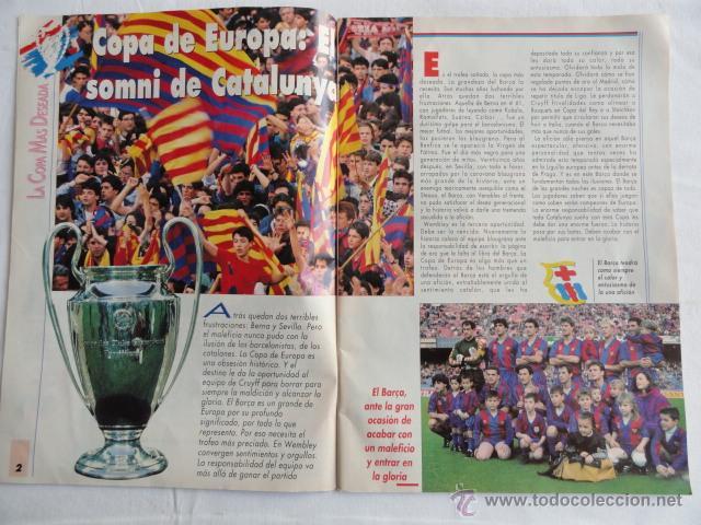Coleccionismo deportivo: REVISTA SPORT. Nº ESPECIAL. LA COPA SOÑADA. - Foto 2 - 43348174