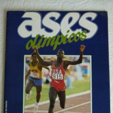 Coleccionismo deportivo: ASES OLIMPICOS AS - COMPLETO. Lote 43414730